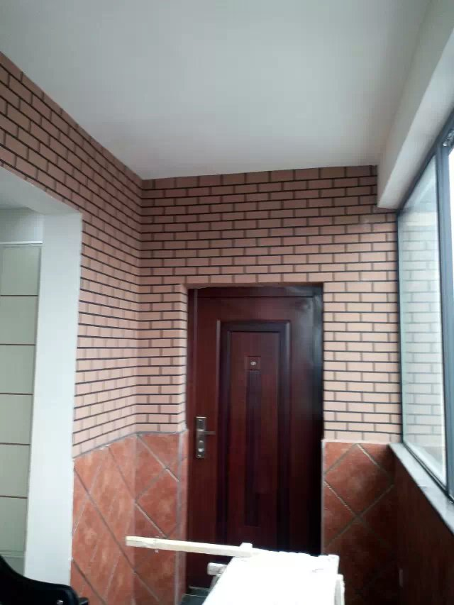 仿瓷砖文化墙