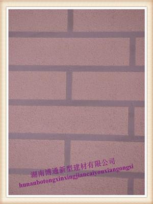 中国创新性彩色装饰砂浆(纹理型)